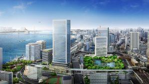 【NEWS】ソフトバンク、東急不動産と竹芝地区でスマートシティを共創