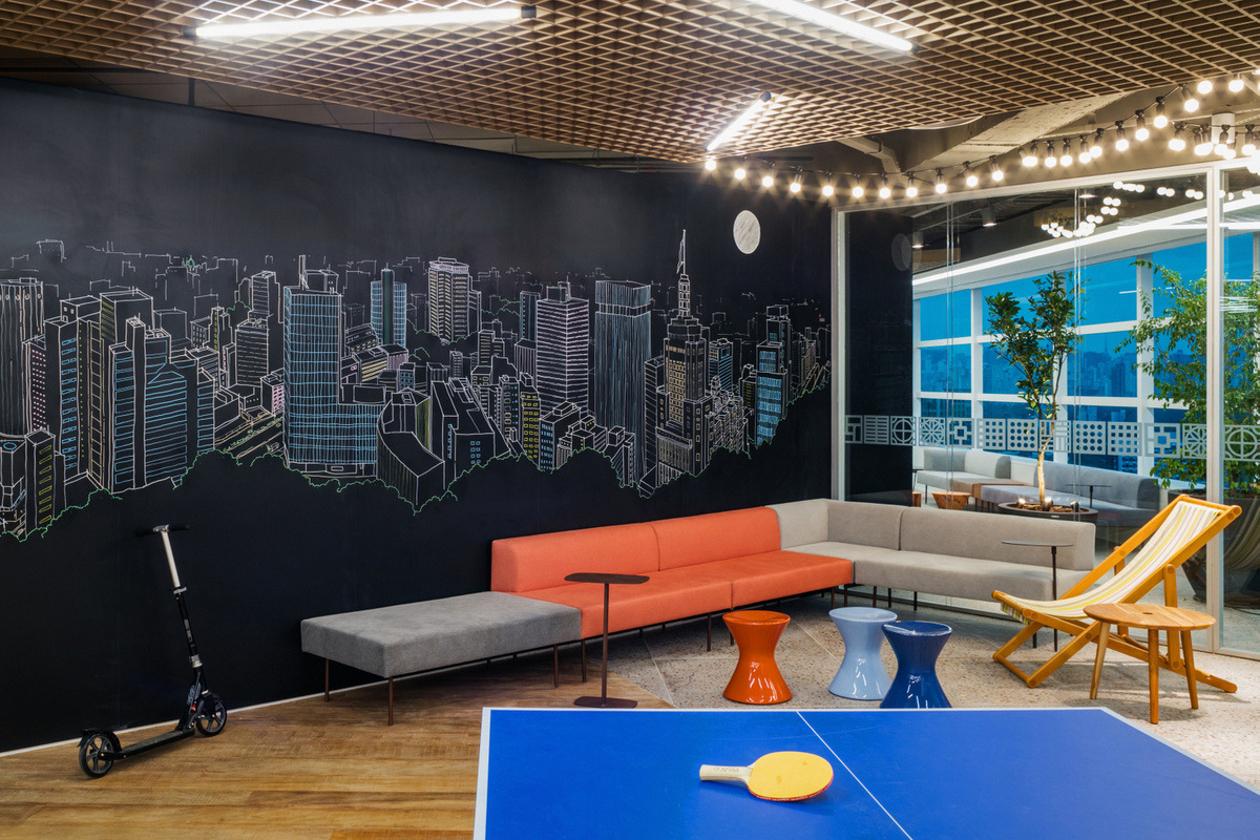 オフィスの壁をもっと素敵に!海外の壁面装飾デザイン集